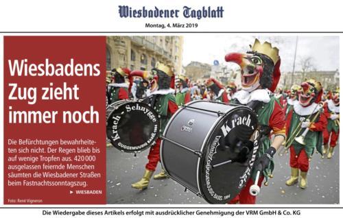 20190304 Wiesbadener Tagblatt Zug