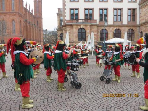 Vorfasnacht Wiesbaden 2018